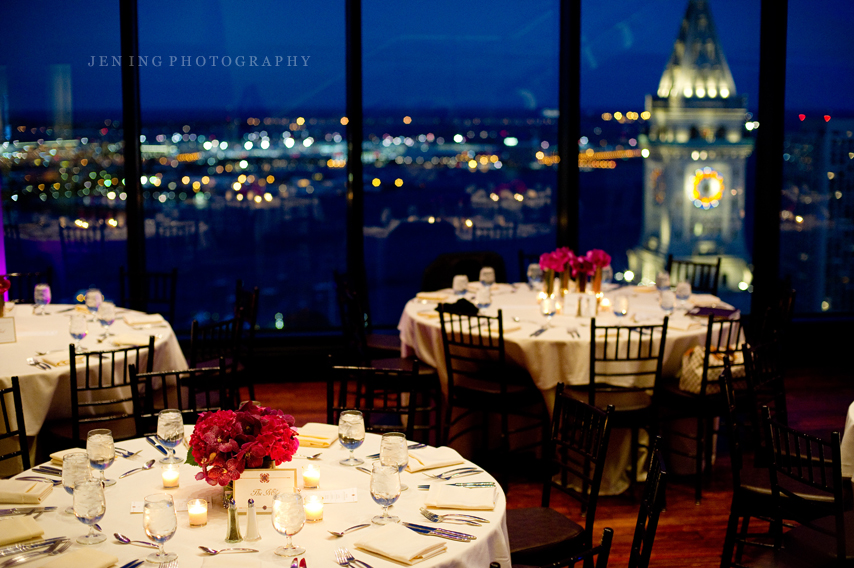 Boston State Room Wedding Photography Table Settings