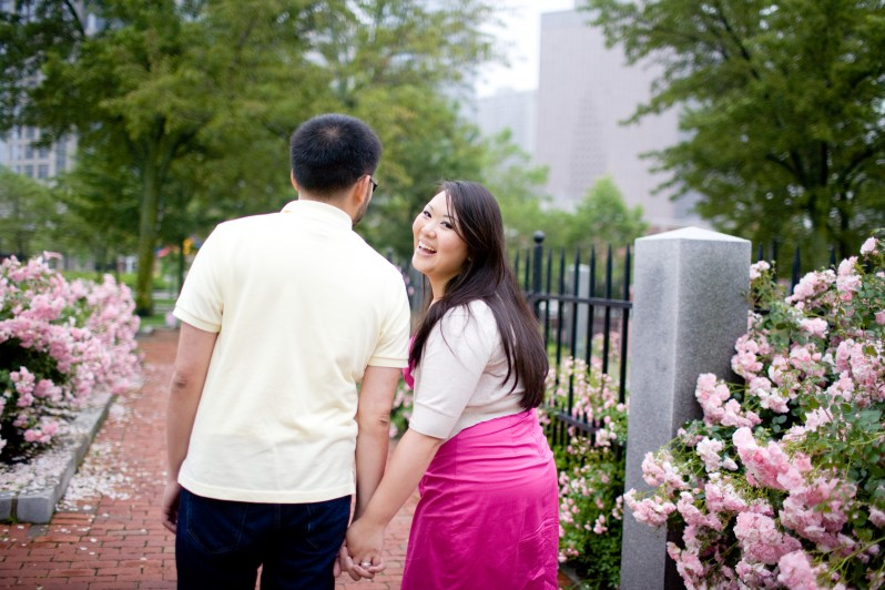 Christopher Columbus park engagement