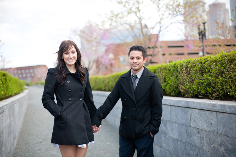 rose kennedy greenway engagement