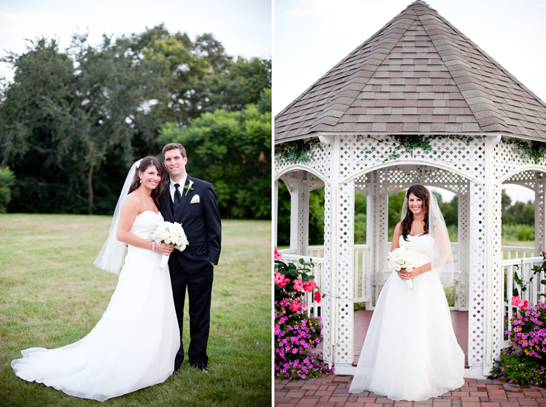 wedding portraits at the tirrell room