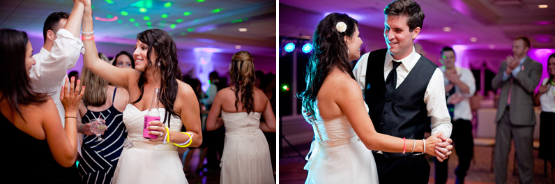 dance floor at tirrell room wedding