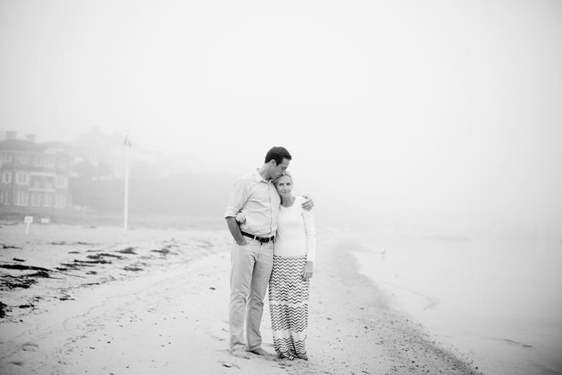 cape cod beach engagement shoot