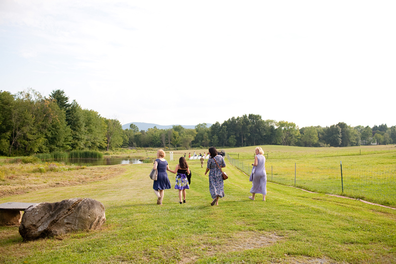 farm wedding in Amherst, MA