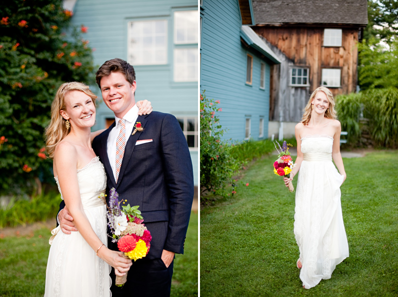 summer outdoor wedding in Amherst, MA