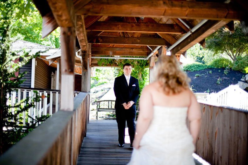 red lion inn wedding first look