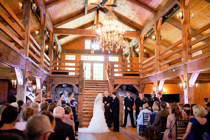 barn wedding at the red lion inn - cohasset ma
