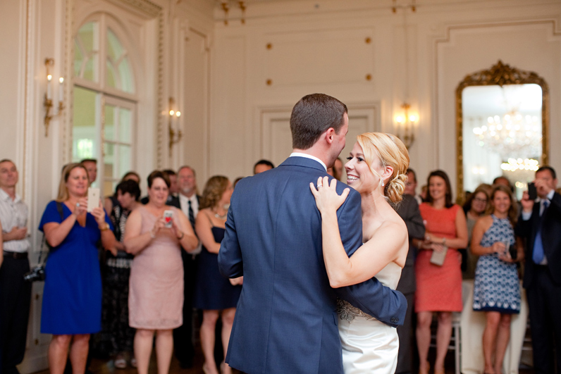first dance at tupper manor wedding