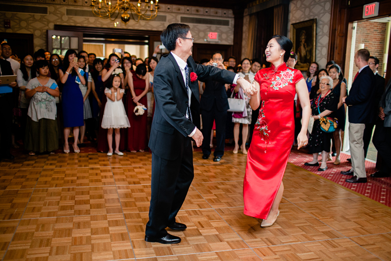 father daughter dance - chinese wedding