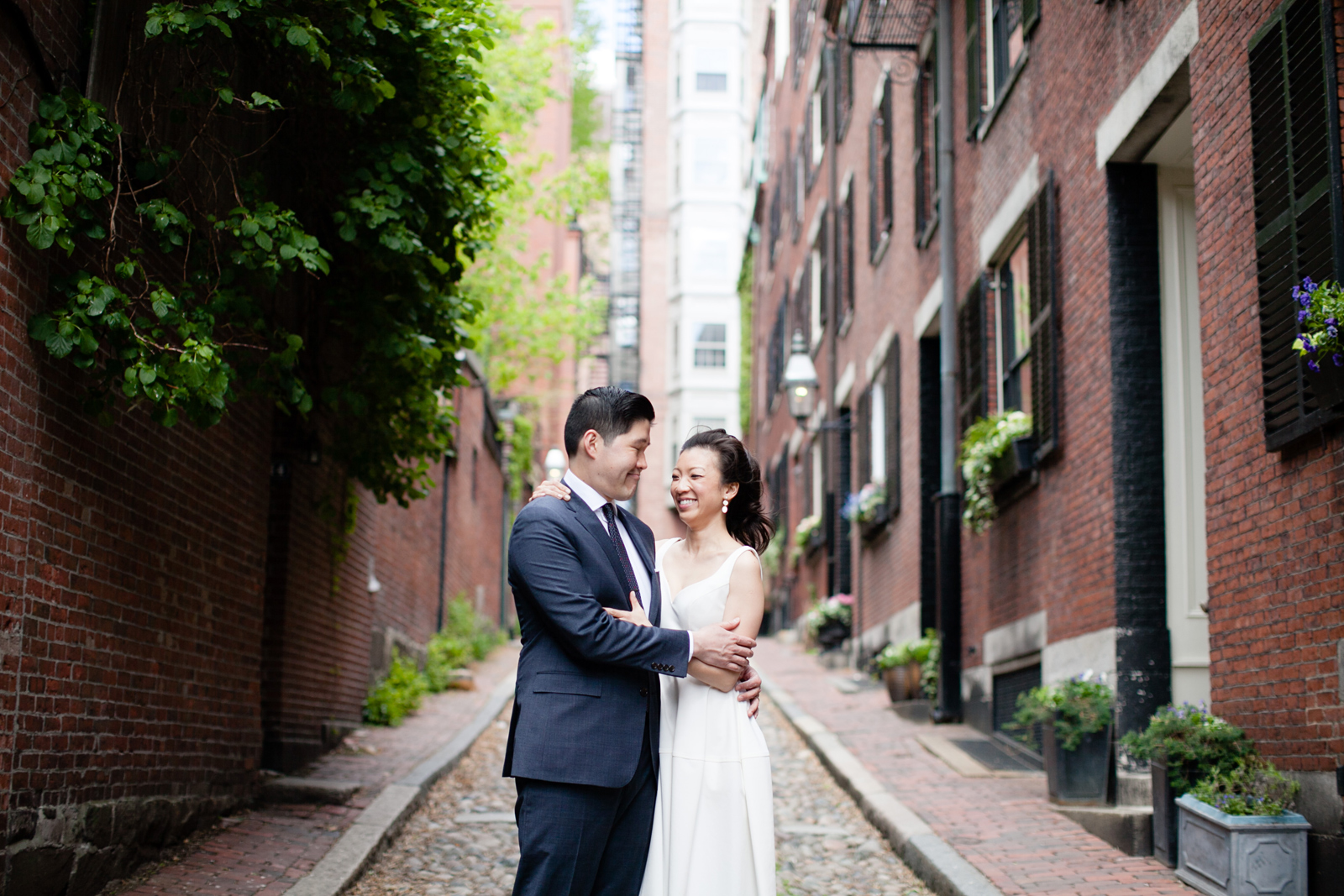 beacon hill engagement session