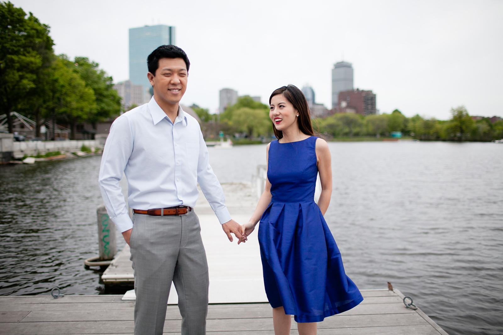 boston esplanade engagement