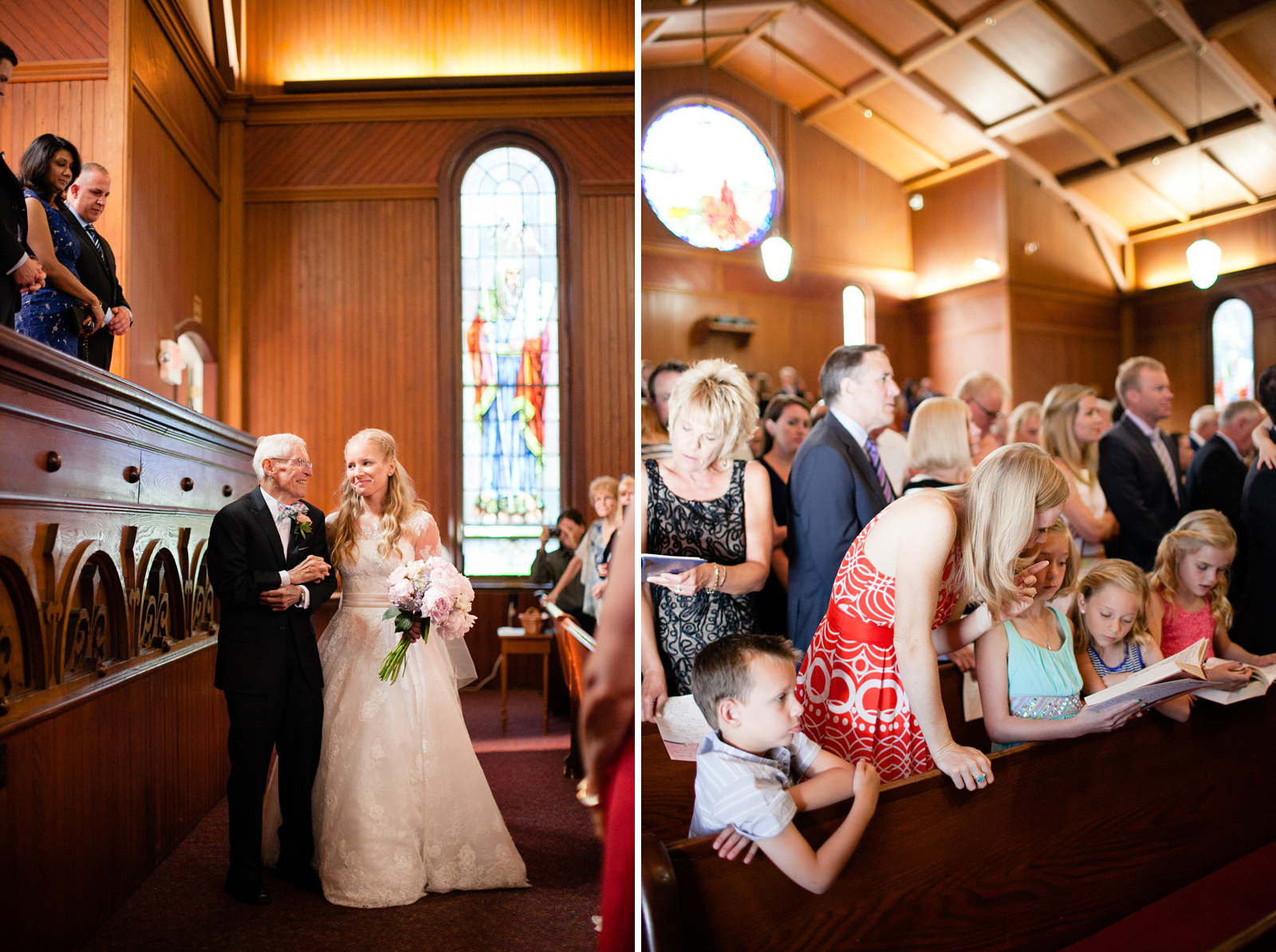 vermont church wedding ceremony