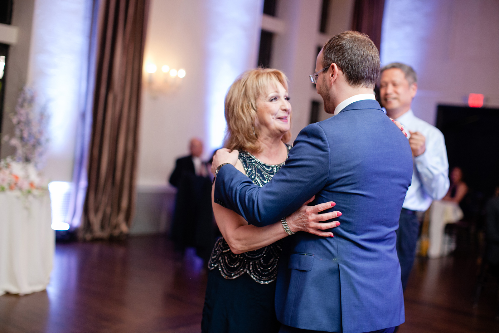 mother son dance at boston wedding