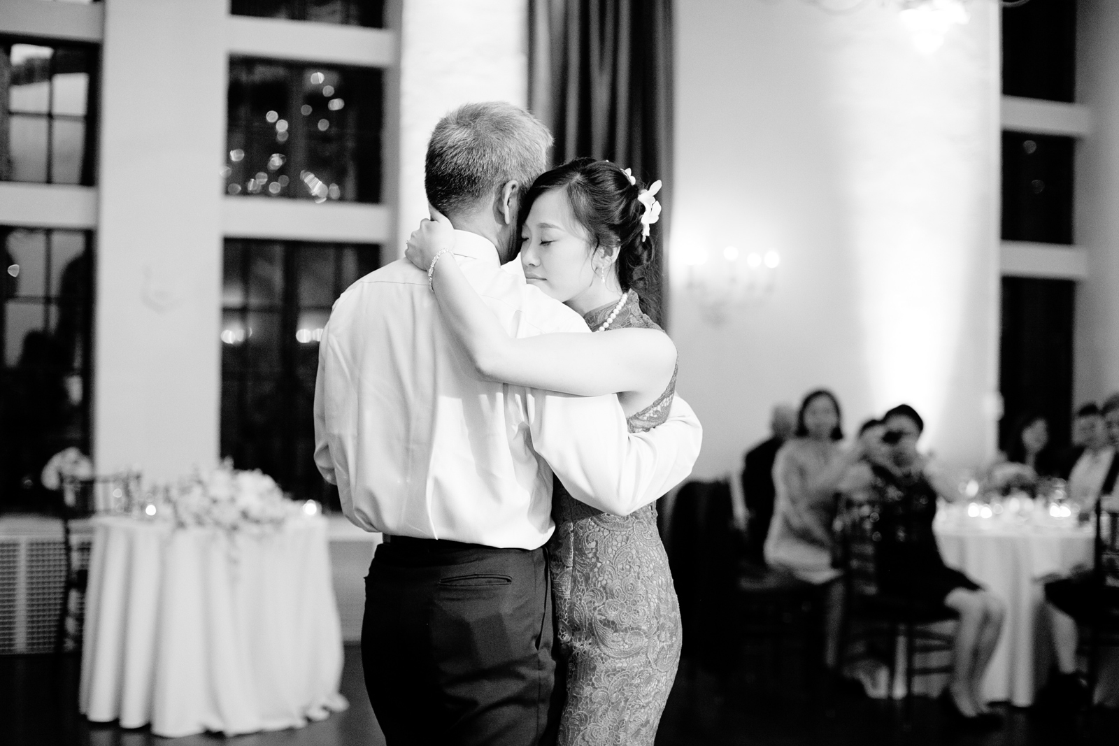 father daughter dance at boston wedding