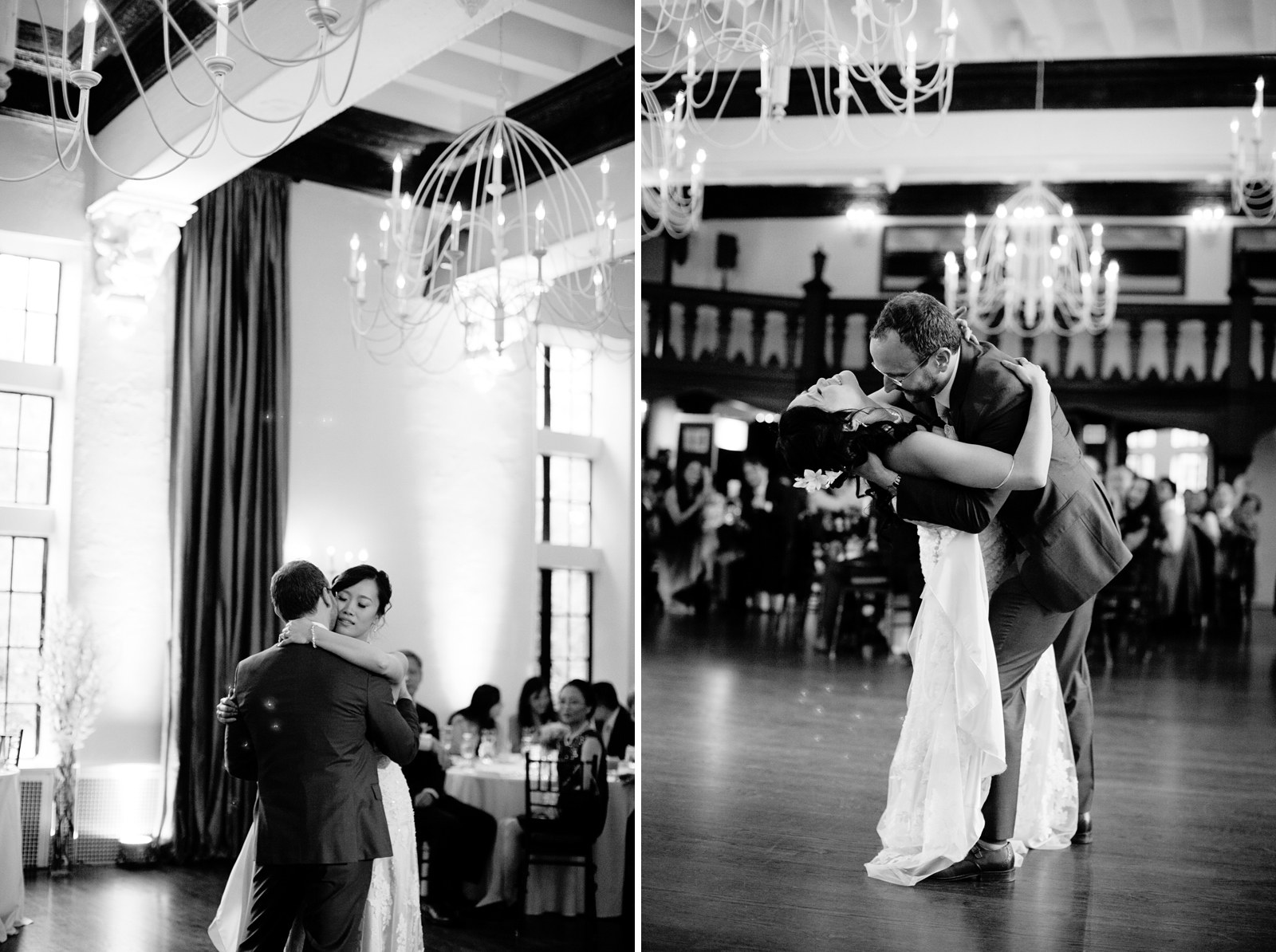 first dance at boston wedding