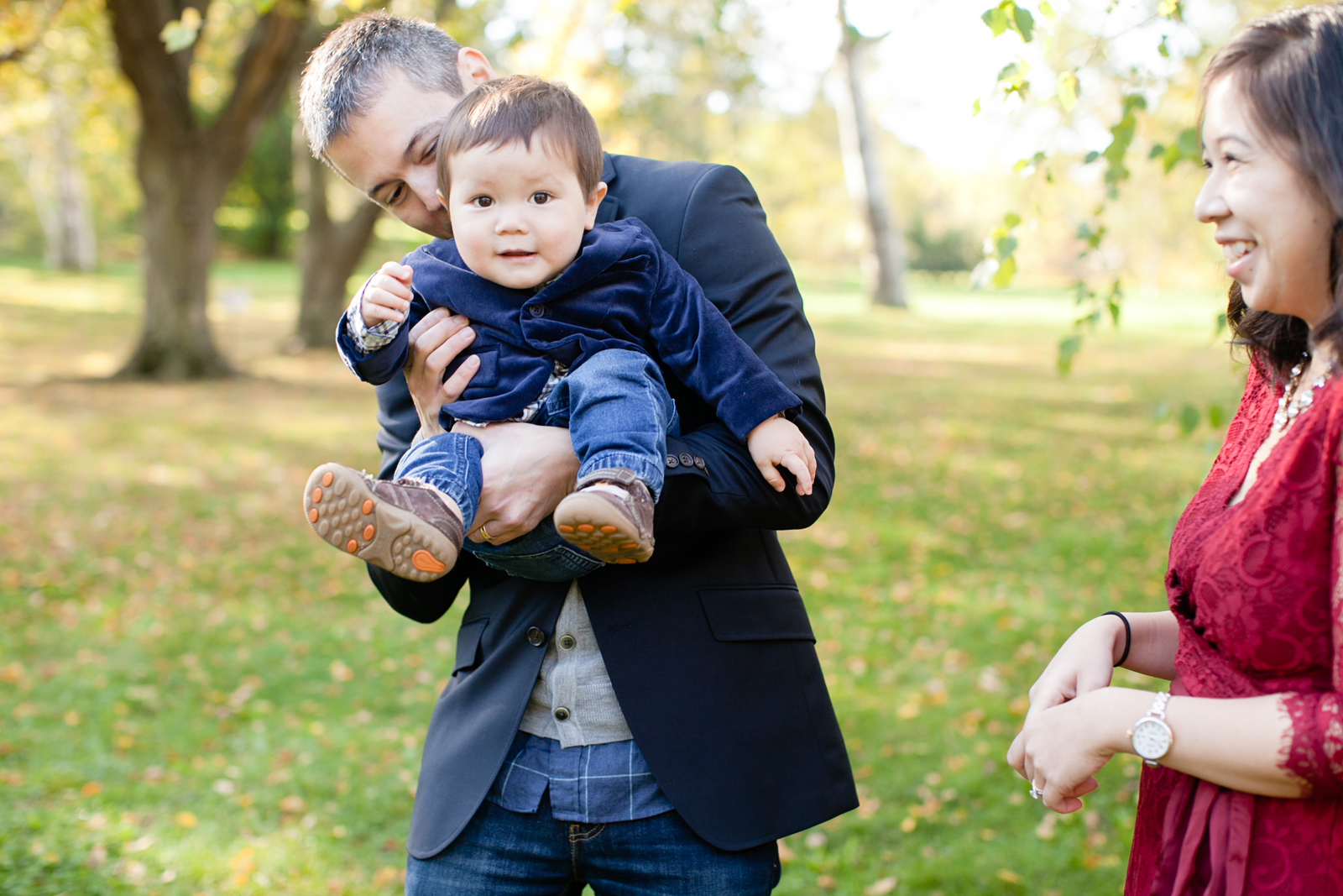 outdoor family photography in boston