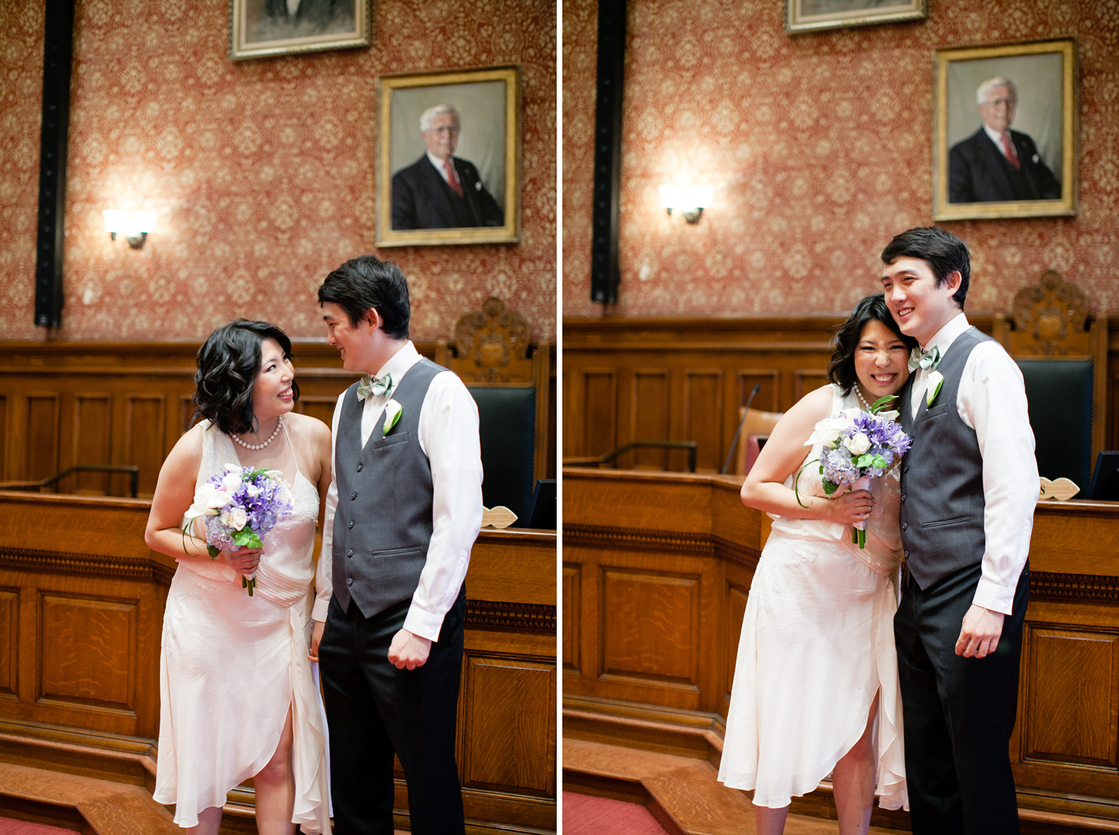 cambridge elopement at city hall