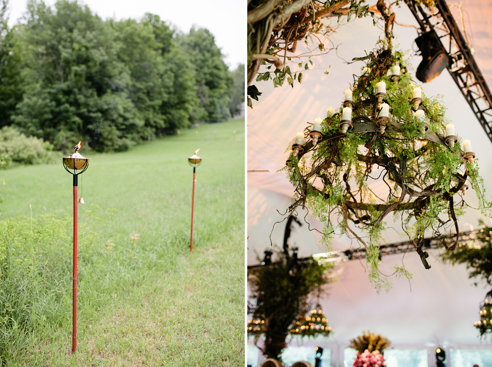 green inspired wedding in new england