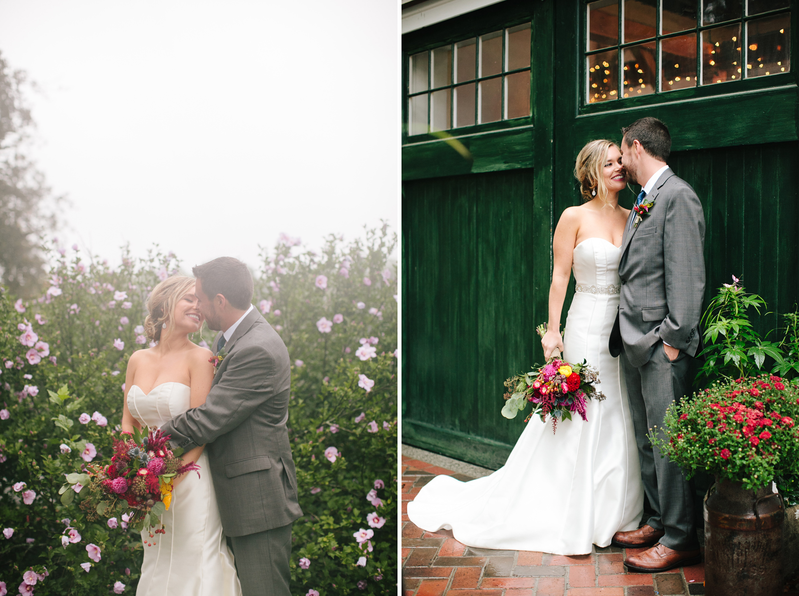 peirce farm at witch hill wedding