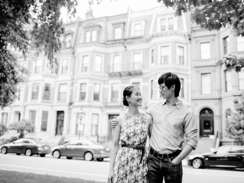 back bay engagement in boston