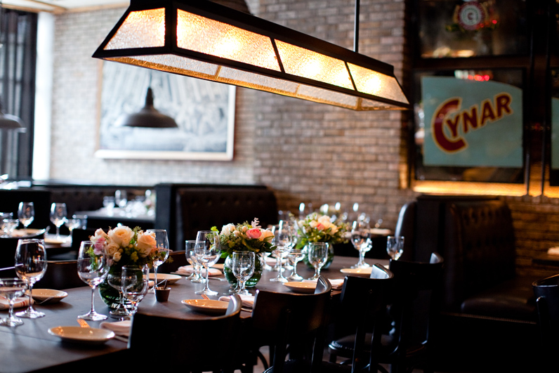 Boston Restaurant Wedding At Cinquento In The South End